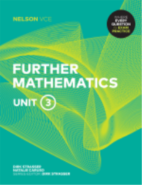 NELSON VCE FURTHER MATHEMATICS UNITS 3 EBOOK