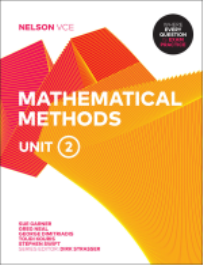 NELSON VCE MATHEMATICAL METHODS UNITS 2 EBOOK