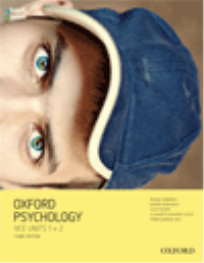 OXFORD PSYCHOLOGY UNITS 1+2 STUDENT OBOOK/ASSESS 3E