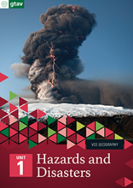 GEOGRAPHY VCE UNITS 1&2: HAZARDS AND DISASTERS UNIT 1 (GTAV) EBOOK REVISED (No printing or refunds. Check product description before purchasing)
