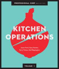 PROFESSIONAL CHEF VOLUME 1: KITCHEN OPERATIONS