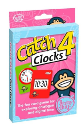 CATCH 4 CLOCKS GAME: MIDDLE PRIMARY