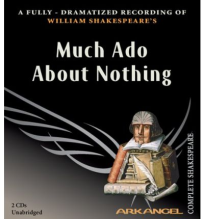 MUCH ADO ABOUT NOTHING AUDIO CDS