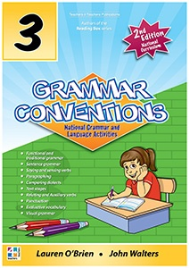 GRAMMAR CONVENTIONS BOOK 3