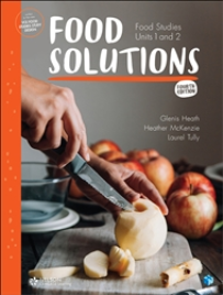 FOOD SOLUTIONS: FOOD STUDIES UNITS 1&2 STUDENT BOOK + EBOOK