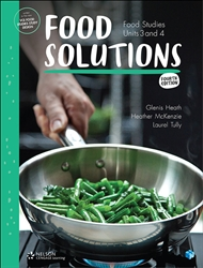 FOOD SOLUTIONS: FOOD STUDIES UNITS 3&4 4E STUDENT BOOK + EBOOK